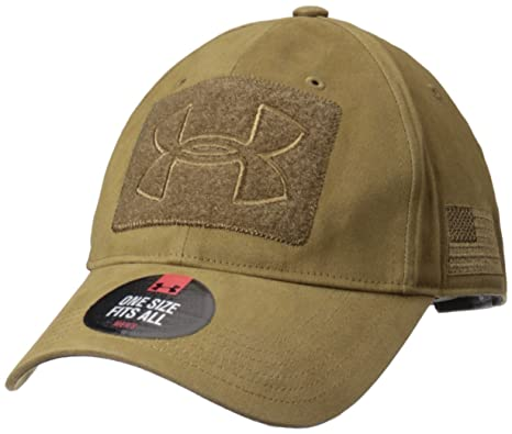 3cb90587c74d2 Amazon.com  Under Armour Men s Tactical Patch Cap, Coyote Brown (220 ...