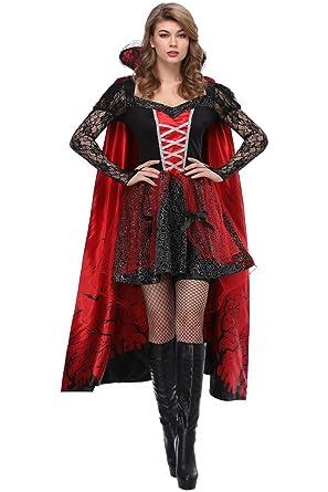 Amazon.com: obtai Vampire Queen disfraz de Halloween ...