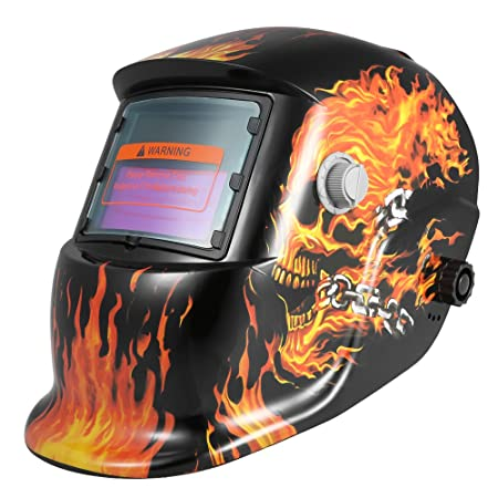 1 tacklife Auto Darkening Welding Helmet Mask of soldadores Masks for Welding with 6/Spare Lenses of Arc Tig Mig Grinding 01D