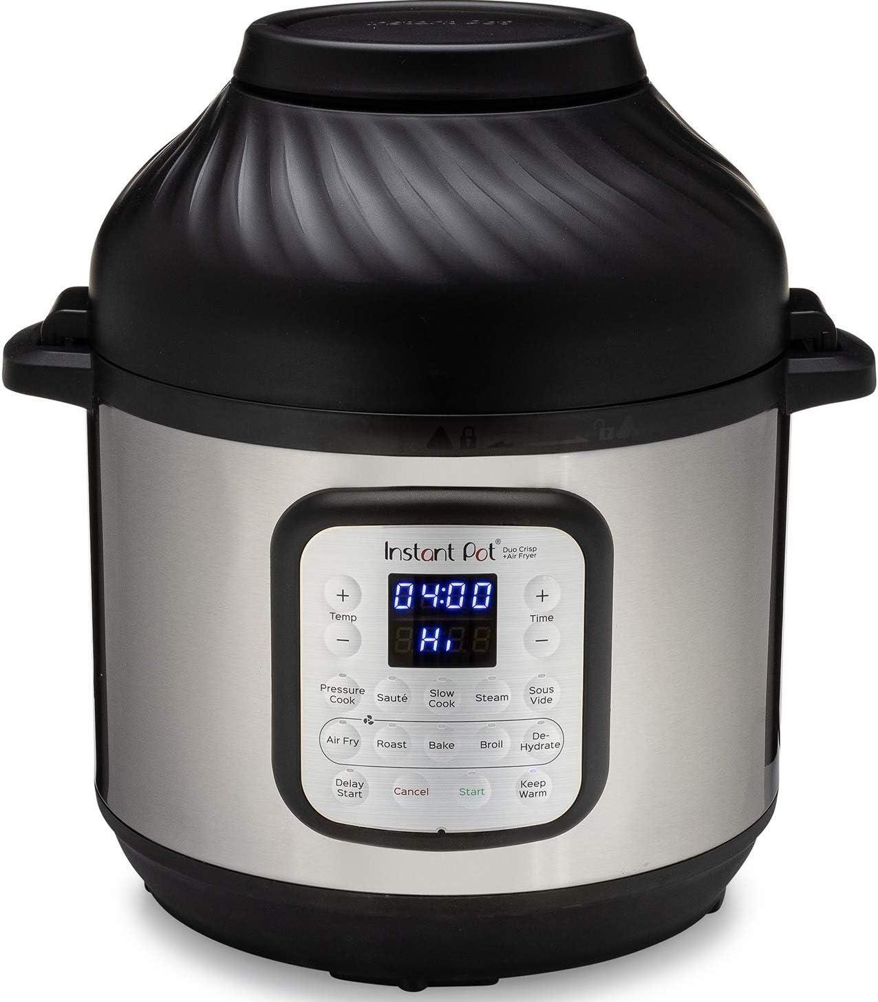 Instant Pot Duo Crisp 11-in-1 Air Fryer, 8 Qt.