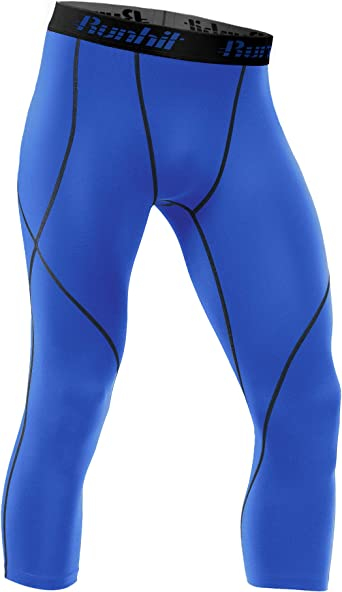 Men Gym Sport Thermal Tight Compression Base Layer Pants Shorts Leggings 3 Types