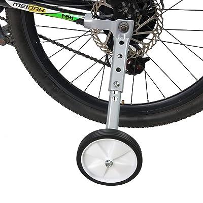 "Adjustable Speed Bicycle Training  Wheels Kids Bikes Stabilizer 16/""-22/""US"