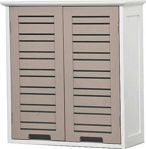 Hängeschrank Äberschrank Fürs Badezimmer - 2 Türen - Schrank Mit