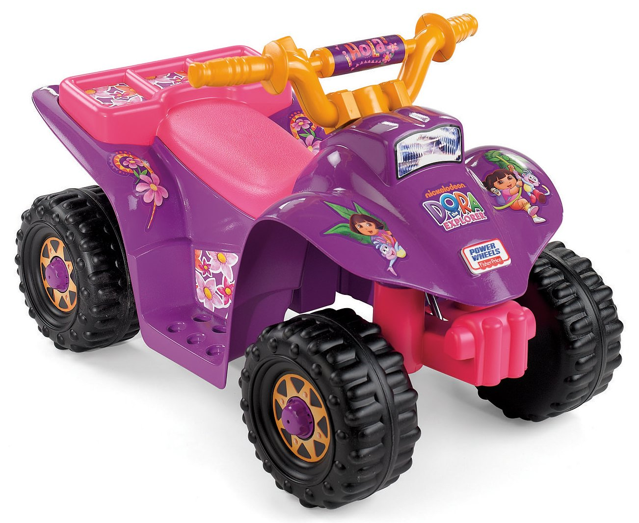 Power Wheels Dora Lil Quad Toys Games