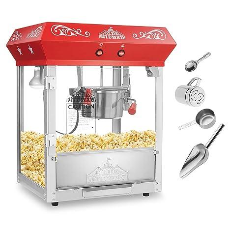 Amazon.com: Olde Midway - Máquina para hacer palomitas de ...