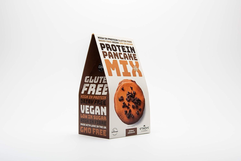 Stacks of Goodness Mezcla doble de proteína de chocolate para ...