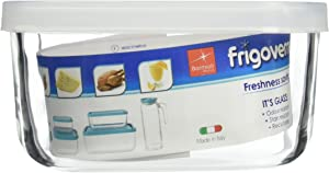 Bormioli Rocco Frigoverre Rectangular Food Container with Frosted Lid