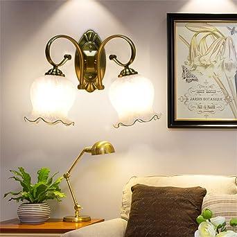 Anbiratlesn Modern Wandleuchten E27 Antik Wandlampe Vintage Rustikal  Wandlampe Für Schlafzimmer Wohnzimmer Bar Flur Badezimmer Küche