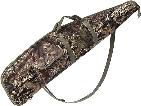 AUMTISC Estuche de Rifle Rifle de Alcance Suave Escopeta Caza Disparo Caza de Rifle Accesorios Bolsa 48 Pulgadas Camuflaje: Amazon.es: Deportes y aire libre