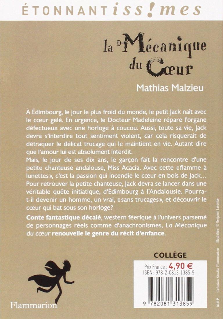 La Mecanique Du Coeur (french Edition): Mathias Malzieu: 9782081313859:  Amazon: Books