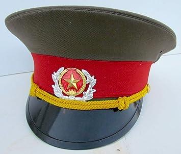Amazon.com  CHINESE ARMY UNIFORM VISOR HAT  Everything Else dc8989318d2