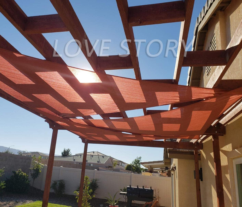 Love Story - Toldo triangular impermeable para patio y jardín: Amazon.es: Jardín