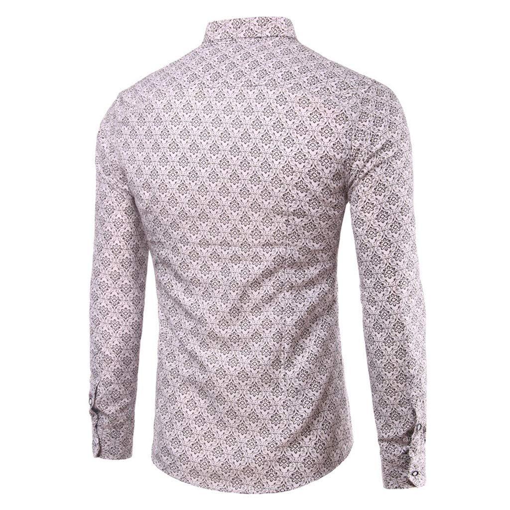 Mens Casual Long Sleeve Plaid Slim Fit Dress Shirts Koolsants Mens Business Shirt