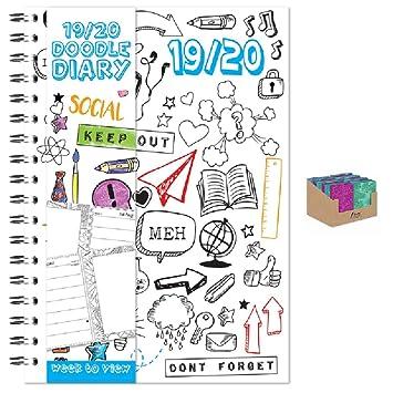 2019-2020 - Agenda escolar (vista semanal, tamaño A5 ...