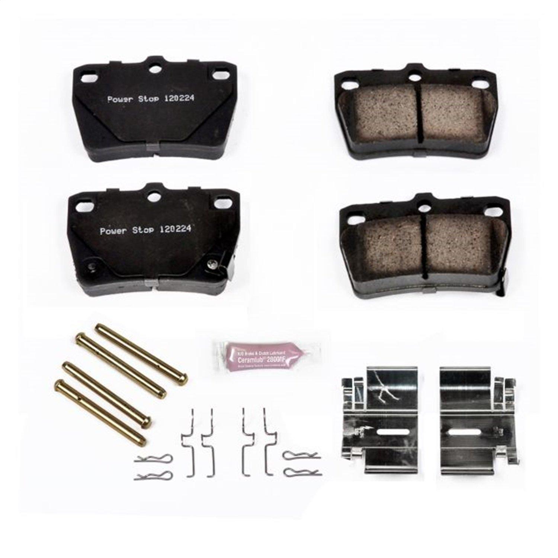 Z23-1051 Power Stop Rear Z23 Evolution Sport Brake Pads