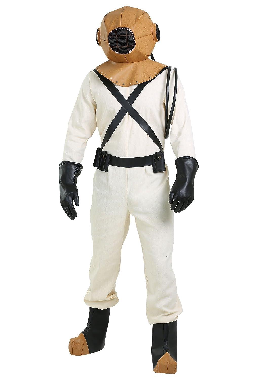 Deep Sea Diver Men's Fancy dress costume Large