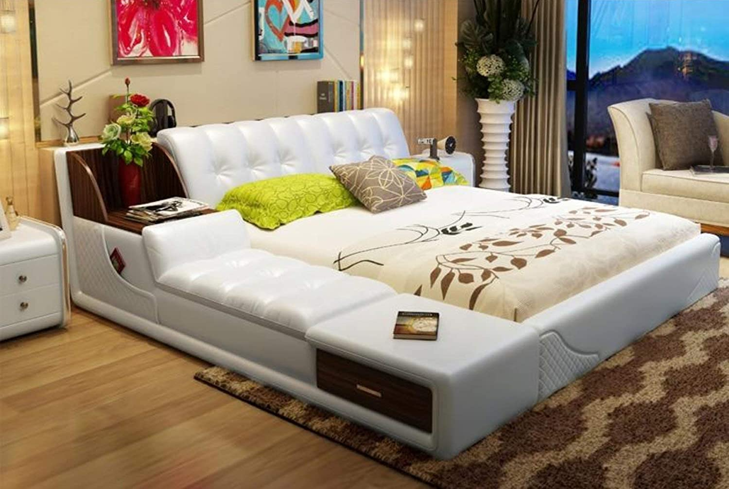 Amazon.com: My Aashis Soft Beds with Storage Home Bedroom