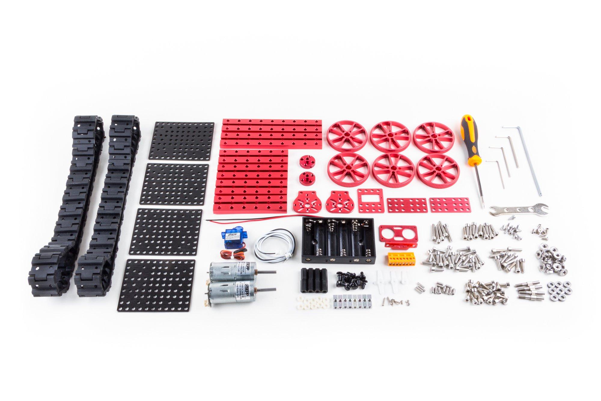 OSEPP Triangular Tank Robotic Mechanical Kit by OSEPP (Image #4)