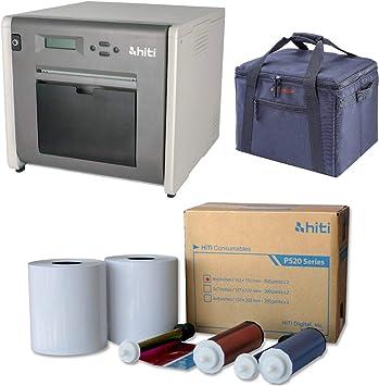 Amazon.com: Hiti p525l rollo Photo Printer – Bundle con HiTi ...