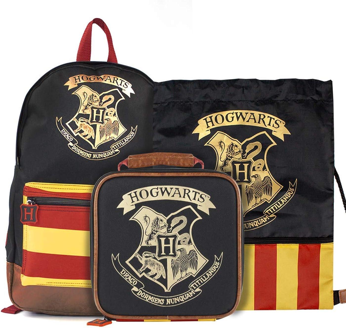 sac d/éjeuner et formateur Bundle Bag Harry Potter Poudlard Grand sac /à dos