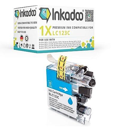 Inka Doo® de tinta apto para Brother DCP J 552 DW equivalente a ...