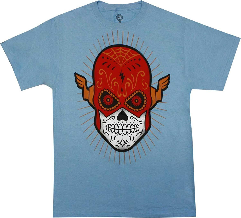 Dc Comics The Flash Sugar Skull Shirt