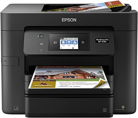 Amazon.com: Epson WorkForce Pro WF-4730 impresora WiFi ...