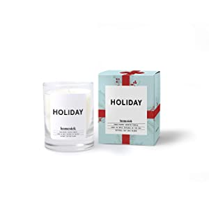 Homesick Mini Scented Candle (10 to 12 hr Burn Time) Home, 1.5 oz, Holiday