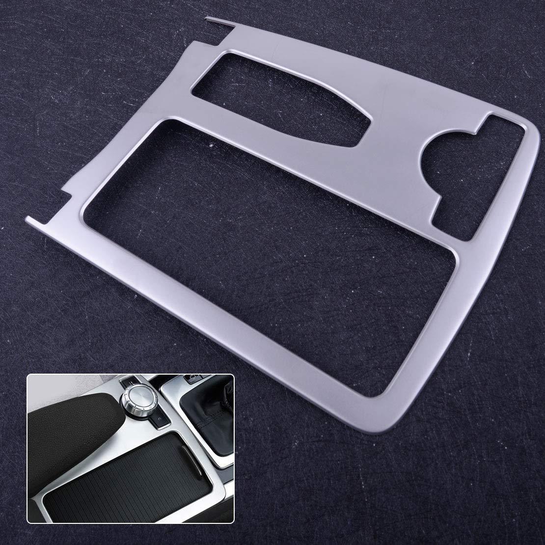 CITALL Garniture de panneau de position de porte-gobelet deau de console en acier inoxydable
