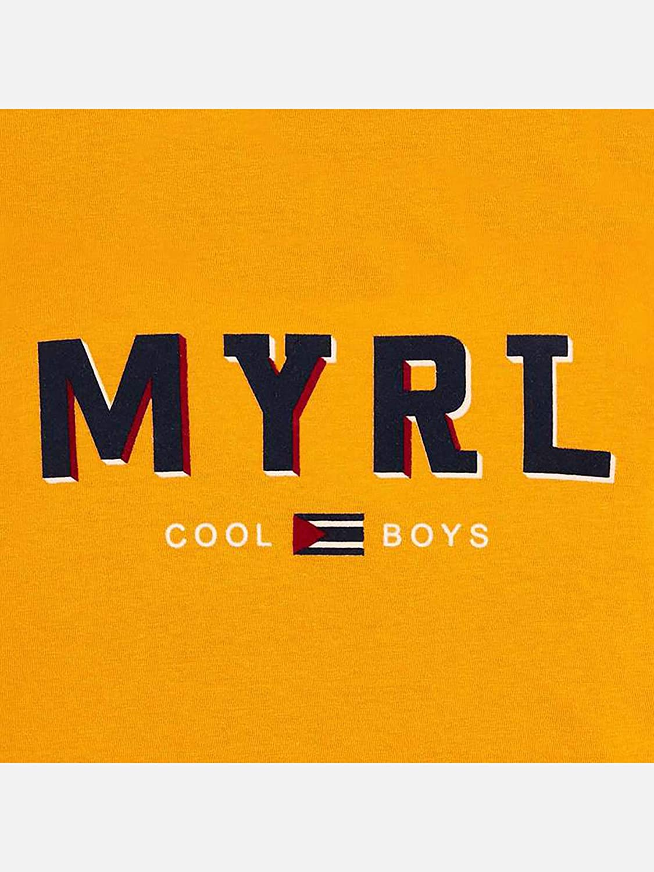 Mayoral L//s Basic t-Shirt for Boys Caramel 0173