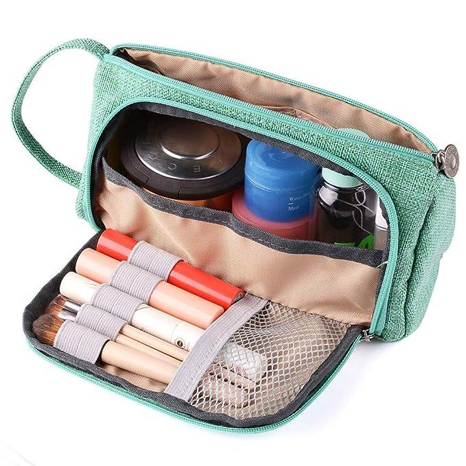 Kaxich Trousse de Crayon Scolaire Grand Capacit/é /Étui de Rangement /à Crayons de Toile Sac /à Crayon Stylo pour Filles et Gar/çons Pochette de Maquillage