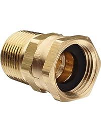 "Dixon 504-1212 Brass Fitting, Adapter, GHT Female Swivel x 3/4"" NPTF Male"