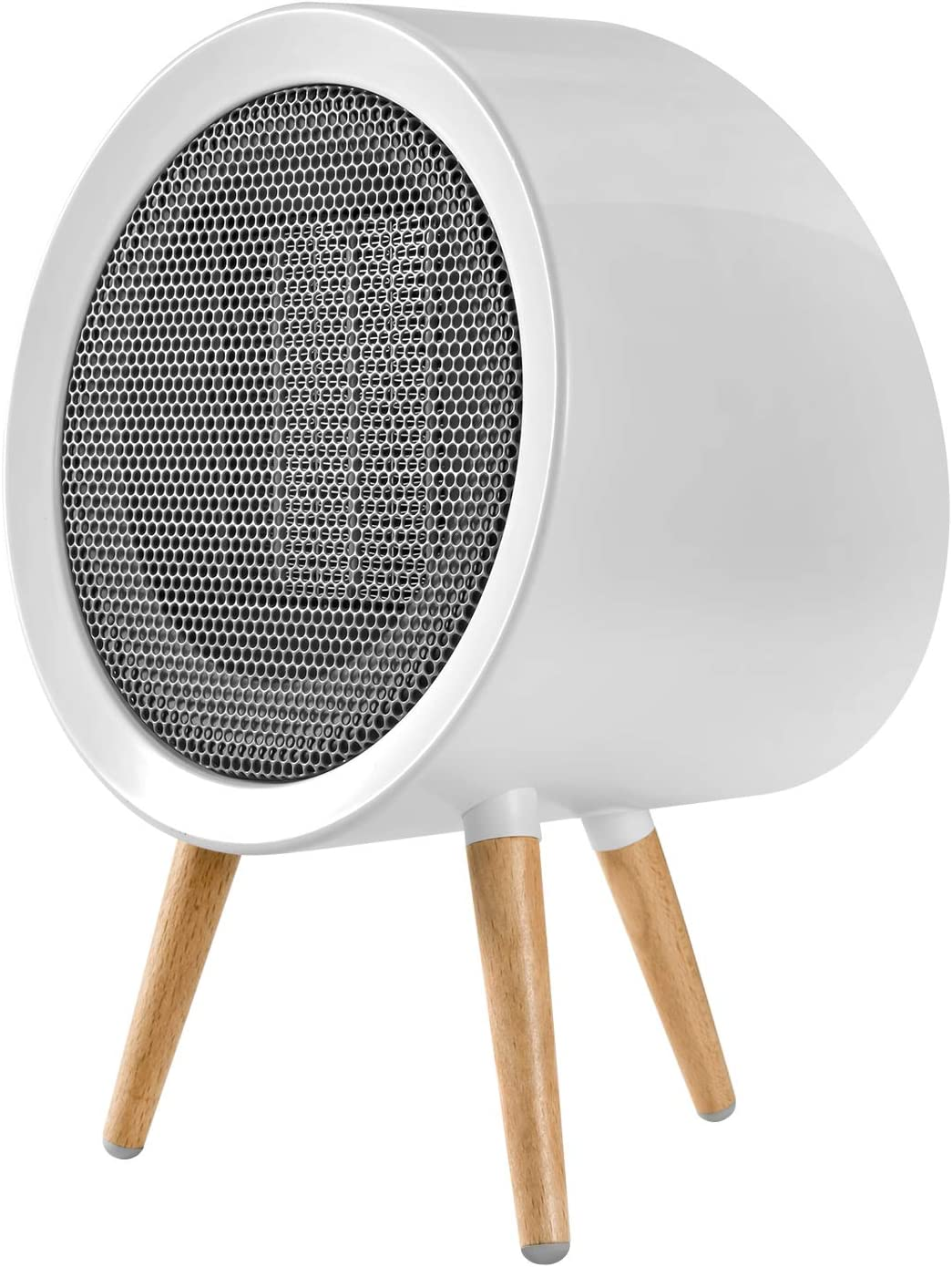 Portable Ceramic Space Heater, Energy Efficient Small Space Heater for Bedroom Electric Space Heater Replacement Parts for Office and Home