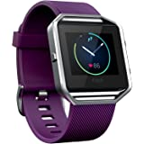Fitbit Blaze Smart Fitness Watch, Plum, Large (Refurbished)