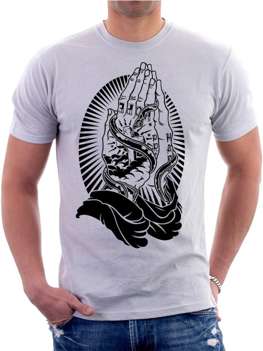 Camiseta Tattoo orando Santa Muerte, Tatuajes, Tattoo. Todas Las ...