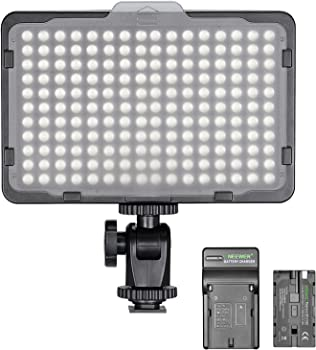 Neewer 176 LED Dimmable Video Camera Light Kit