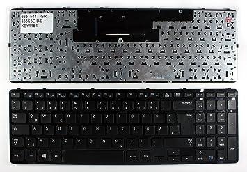 N4NSC.20G Marco Negro Negro Windows 8 Layout Alemán Teclado para Ordenador portátil: Amazon.es: Electrónica
