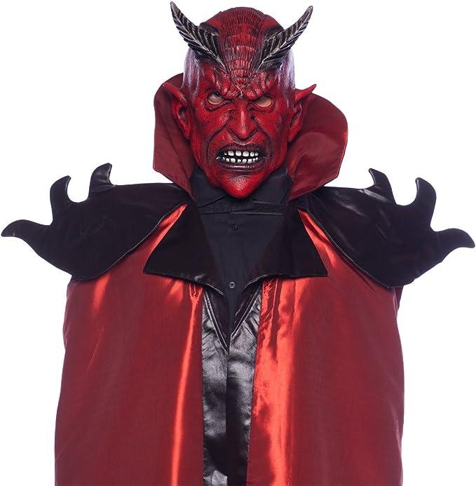 motivo Maschera per adulti Carnival Toys 01133 Diavolo