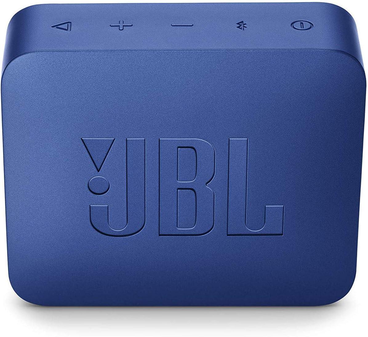 Jbl Go 2 Kleine Musikbox In Blau Wasserfester Portabler Bluetooth Lautsprecher Mit Freisprechfunktion Bis Zu 5 Stunden Musikgenuss Mit Nur Einer Akku Ladung Audio Hifi