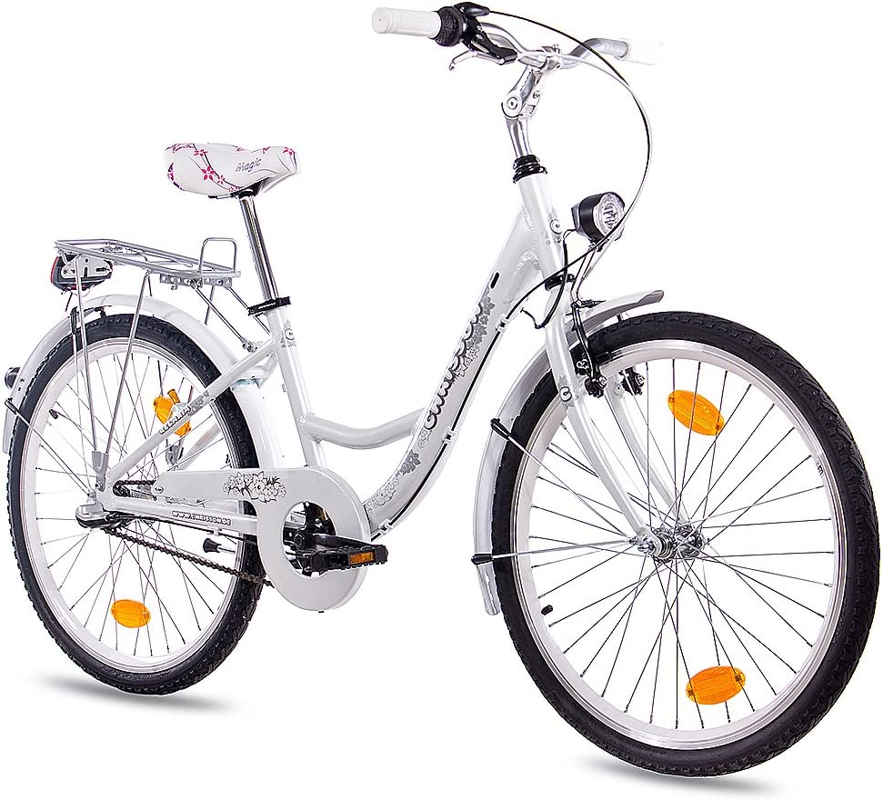 24 pulgadas aluminio niña – Rueda Bicicleta City CHRISSON relaxia ...