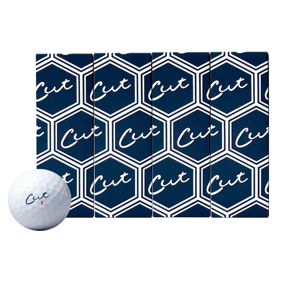 Cut Blue Golf Balls - 3 Dozen Discount Bulk Buy