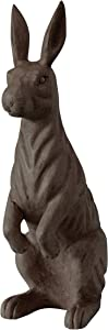 Creative Co-Op Hand-Carved Mango Wood Rabbit, Espresso Color Decor