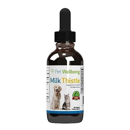 Pet Wellbeing - Cardo De Leche Para Gatos - Soporte Natural Para La Salud Del Hígado