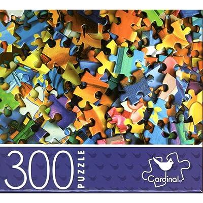 Puzzle Pieces - 300 Piece Jigsaw Puzzle: Toys & Games