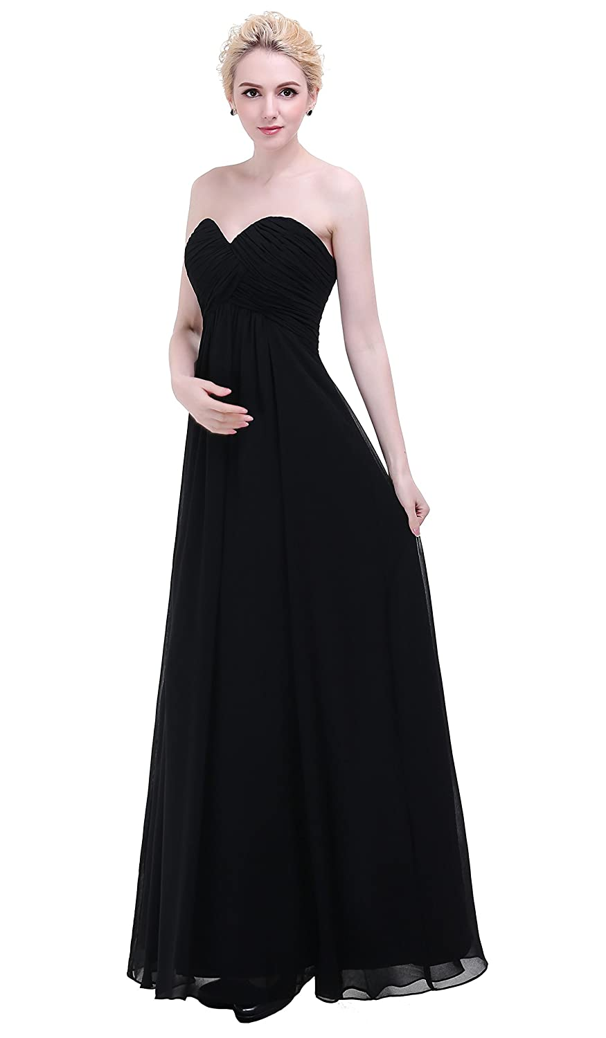 Esvor sweetheart chiffon party prom bridesmaid dress long evening esvor sweetheart chiffon party prom bridesmaid dress long evening gown at amazon womens clothing store ombrellifo Choice Image