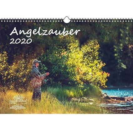 Calendrier De Peche 2020.Angelzauber Agenda 2020 Avec Calendrier Et Kit Cadeau De