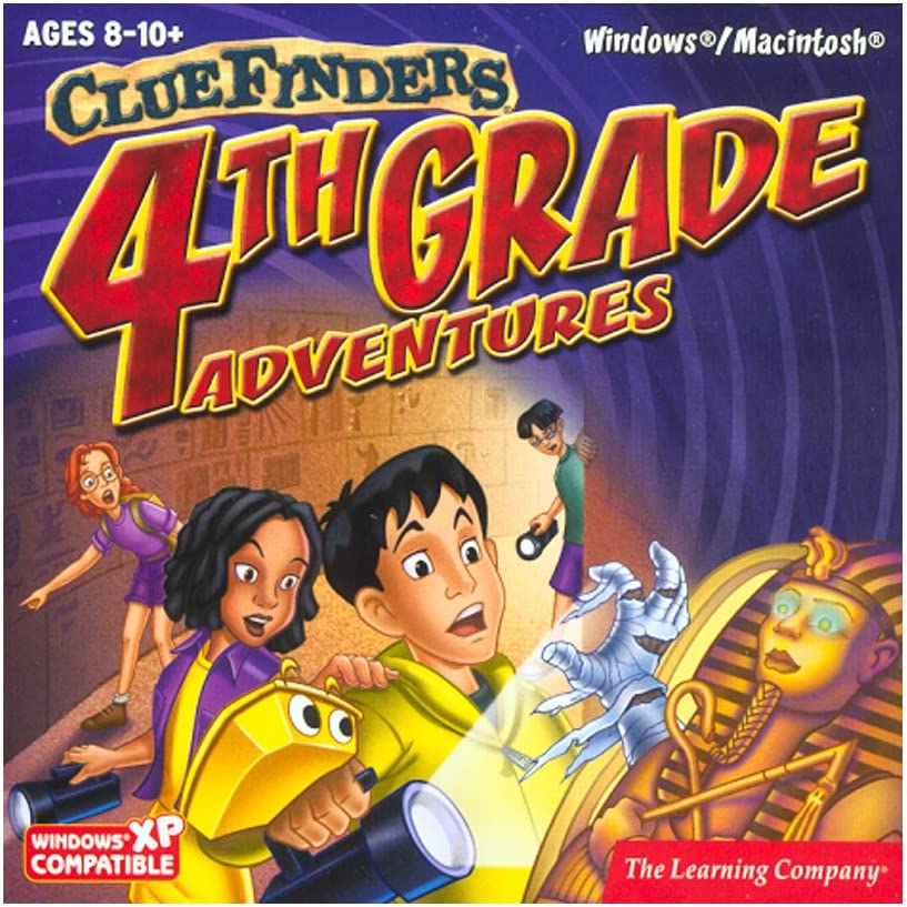 B0002BQMYA ClueFinders 4th Grade Adventures 71m4XYyaZ-L