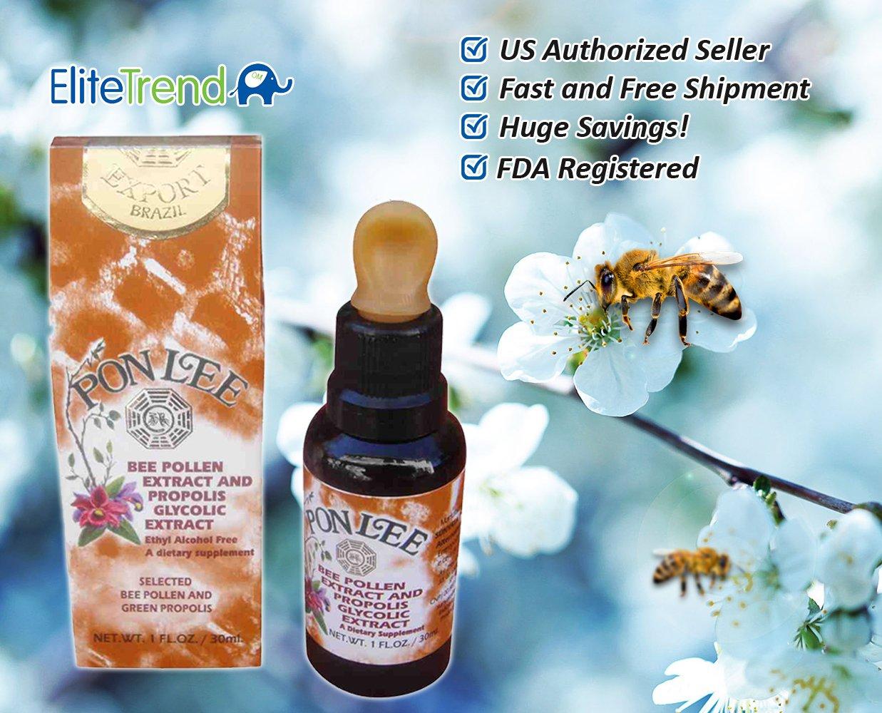 Amazon.com: Inmunidad de Brasil Abeja Polen & Bee Propolis ...