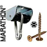 MARATHON Swing Hanger for WOOD installation - Heavy duty hanger with Ball Bearing Technology up to 6