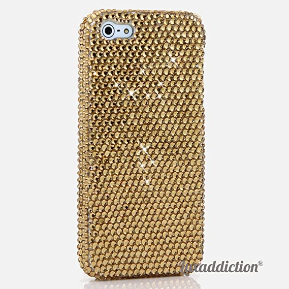 huge selection of a7d1b a3c52 iPhone 6S PLUS Bling Case, iPhone 6 PLUS Case - LUXADDICTION® [Premium  Quality] Handmade Crystallized Bling Case Swarovski Crystals Diamond  Sparkle ...